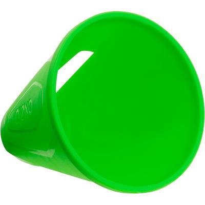 Lot 10 cônes roller slalom vert