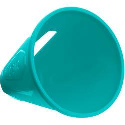 Set van 10 slalomkegels voor skeeleren blauw