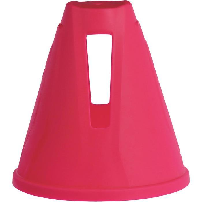 直排輪角錐10件組 - 粉紅色