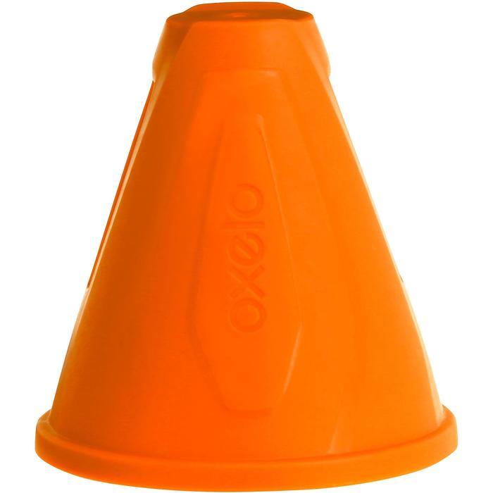 Slalom-Kegel Hütchen Inlineskaten 10 Stück orange
