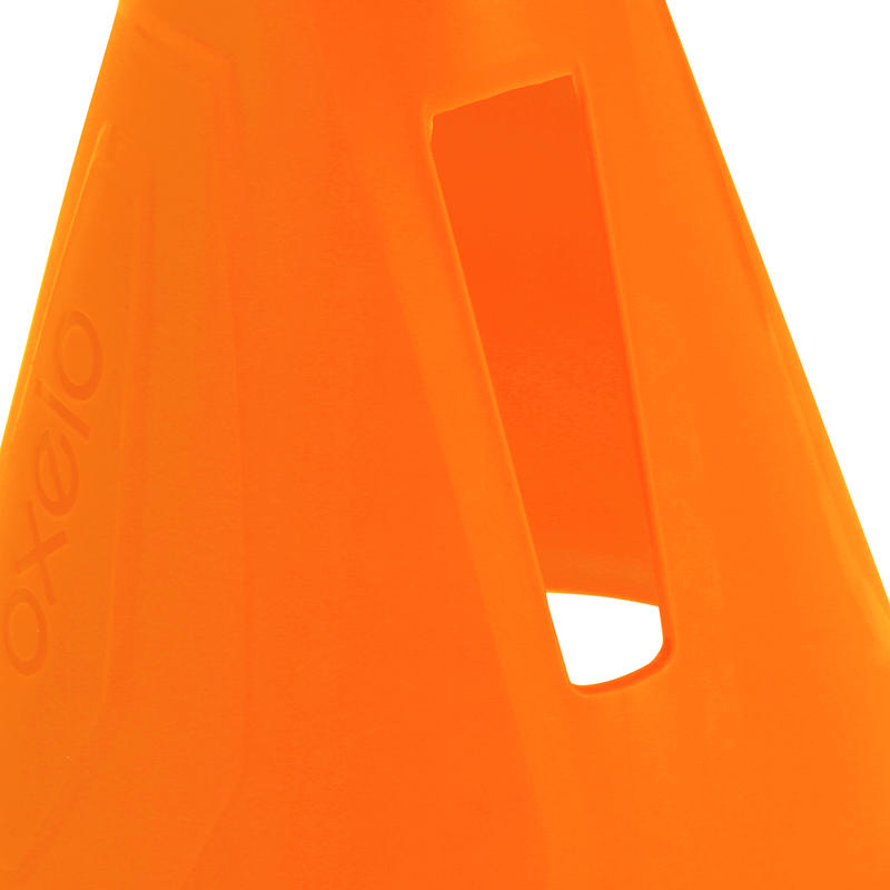 Inline Skating Slalom Cones 10-Pack - Orange