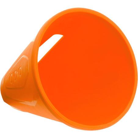Slalomo kūgiai ratukinėms pačiūžoms, 10 vnt. – oranžiniai