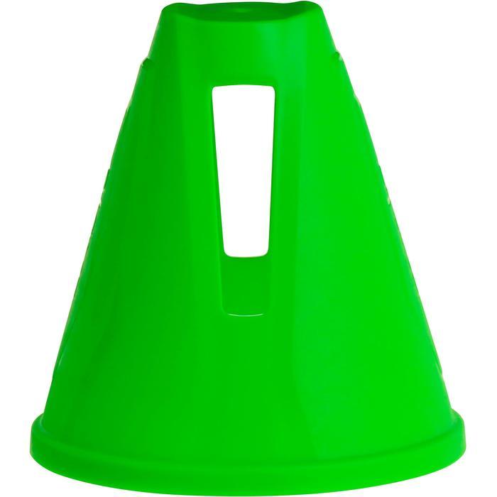 Lote 10 conos rollers eslalon verde