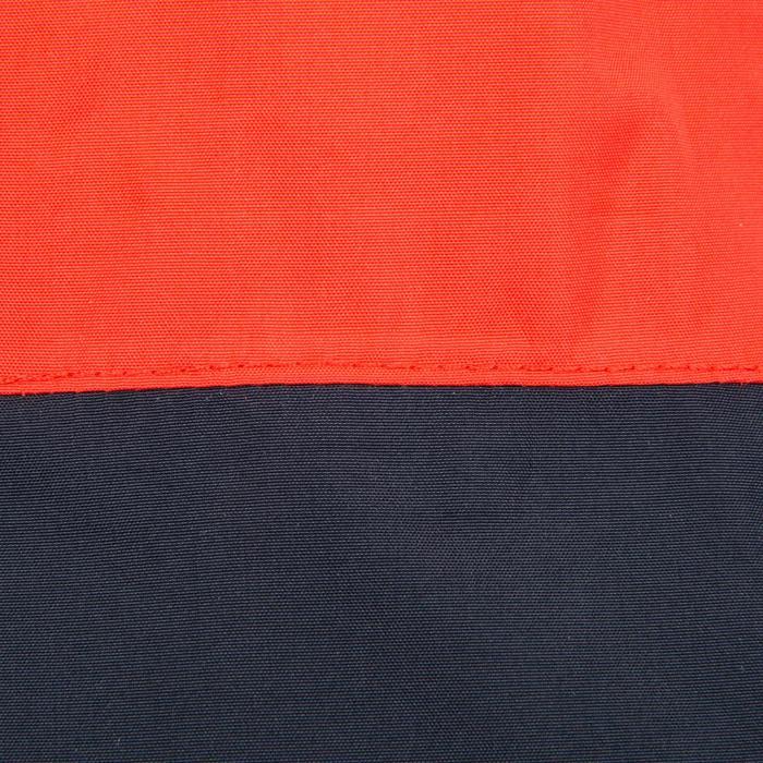 Coupe vent vareuse dériveur/catamaran adulte 100 bleu foncé/rouge corail
