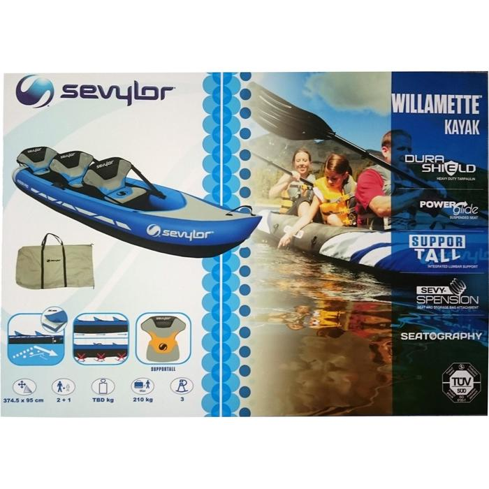 CANOE KAYAK GONFLABLE WILLAMETTE 3 places - 1018704