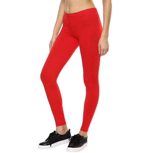 Salto Women's Fitness Leggings - Red