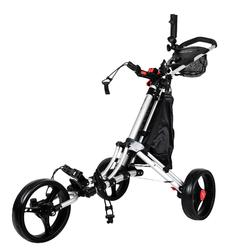 Driewiel golftrolley One Lock