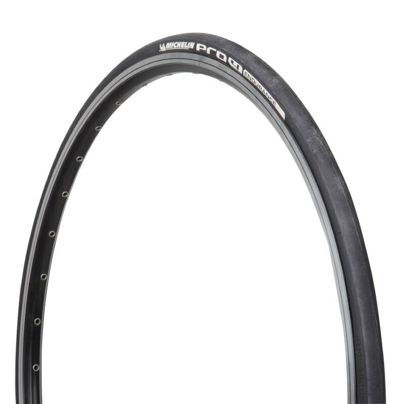 PLÁŠŤ SILNIČNÍ Cyklistika - PLÁŠŤ PRO4 ENDURANCE 700 × 23 MICHELIN - Náhradní díly a údržba kola