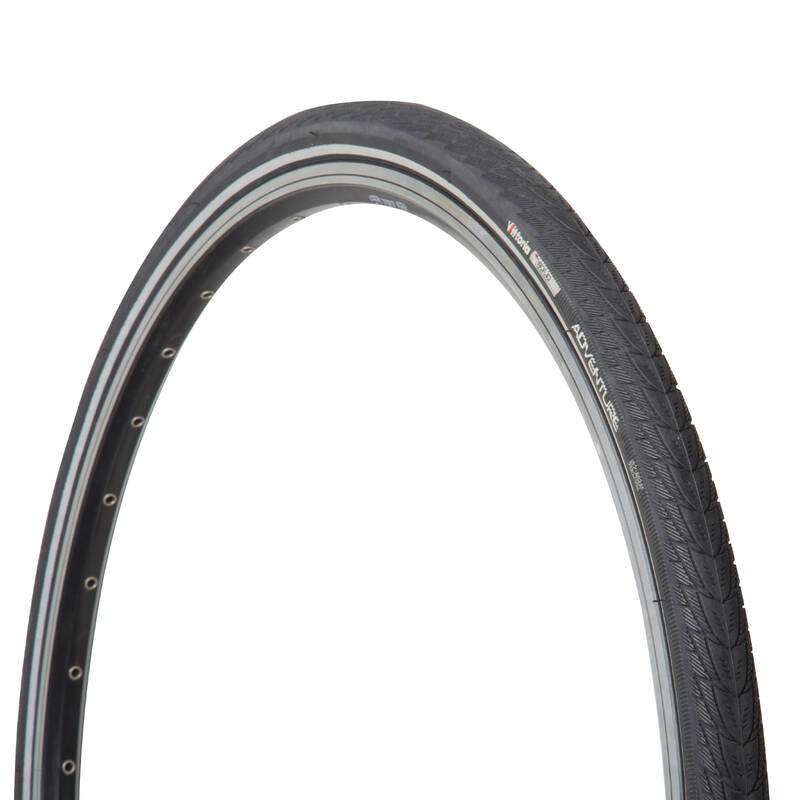 PLÁŠTĚ NA MĚSTSKÁ KOLA Cyklistika - PLÁŠŤ ADVENTURE 700 × 35C  VITTORIA - Náhradní díly a údržba kola