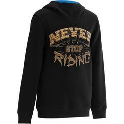Skate hoodie mid voor kinderen, Skull - 1019171