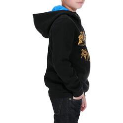 Skate hoodie mid voor kinderen, Skull - 1019175