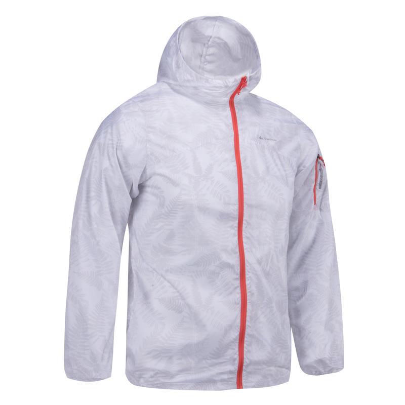 Helium 500 Girl's Windbreaker Hiking Jacket - White