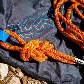 Touwzak voor klimtouw Rock'n Rope zwart