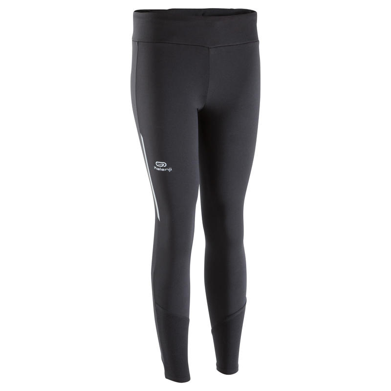 MALLAS LARGAS DE ATLETISMO PARA MUJER RUN WARM NEGRO