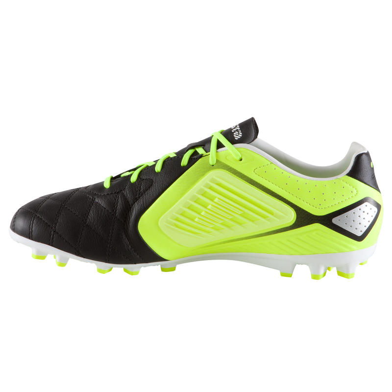 Agility 700 Pro AG Adult Football Artificial Grass Boots - Black Yellow