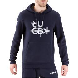 Hoodie Full H voor volwassenen blauw - 1020207