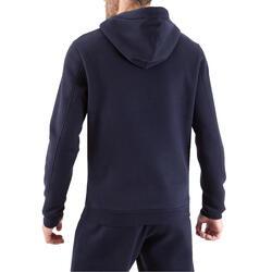 Hoodie Full H voor volwassenen blauw - 1020208