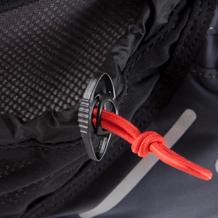 Cinturón Portabidón Running Kalenji 2x250 ml Gris Claro/Gris (No Incluidos)