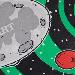 Rugbybal Intergalactic maat 5 zwart - 1020226