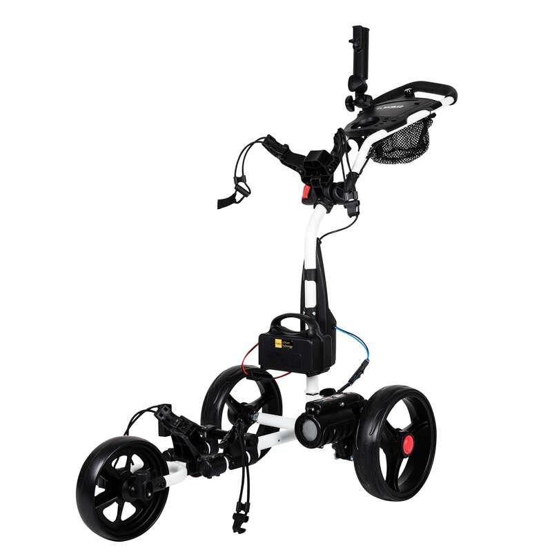 Carrelli Golf - Carrello golf elettrico T.BAO bianco TROLEM - Golf