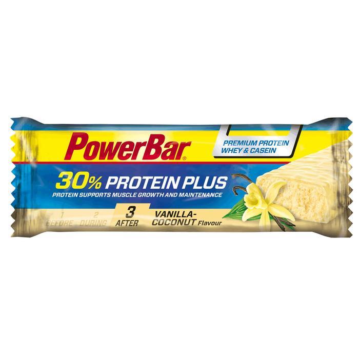 Barre protéinée PROTEIN PLUS 30% vanille noix de coco 55g - 102050