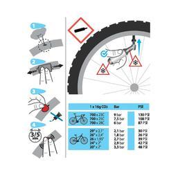 KIT DE REPARATION 900 CHAMBRE A AIR CO2