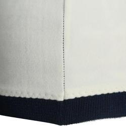 Skimütze Jacquard Erwachsene weiß/marineblau