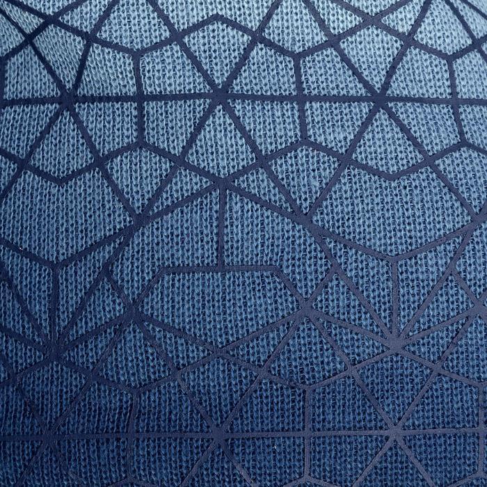 Skimütze Spider blau/weiß
