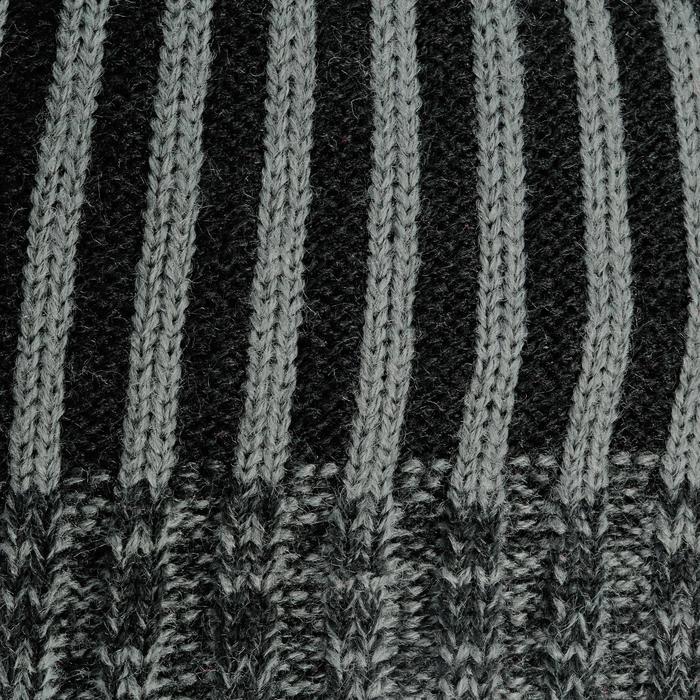 Skimuts Colonne voor kinderen grijs / zwart