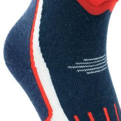 Skisocken Warm Komfort marineblau