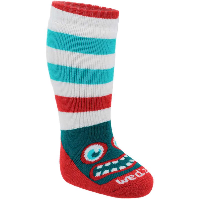 BABY SLEDGE EQUIPMENT Footwear Accessories - Firstheat Baby Socks WEDZE - Accessories