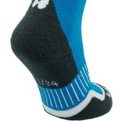 兒童滑雪襪100 - 藍色