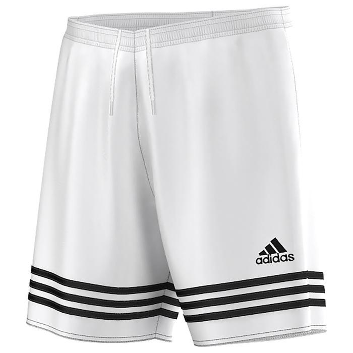 Short de football adulte Entrada blanc - 1021779