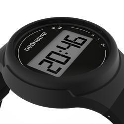 Ditigaal sporthorloge met stopwatch voor heren W100 M zwart - 1021788