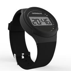 Ditigaal sporthorloge met stopwatch voor heren W100 M zwart - 1021789