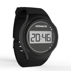 Ditigaal sporthorloge met stopwatch voor heren W100 M zwart - 1021790