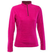 Women's Mountain Hiking Fleece Forclaz 50 - Emboss Pink
