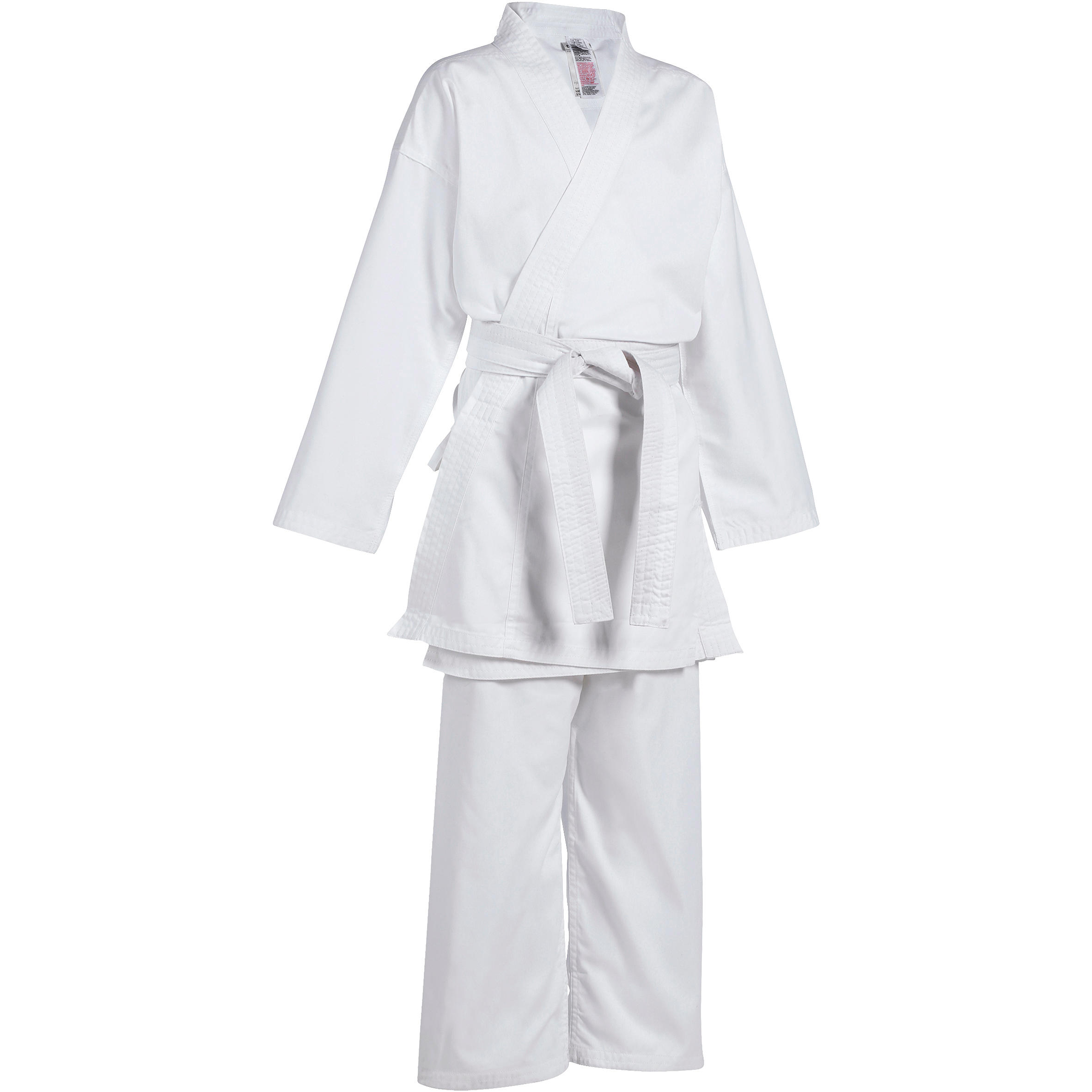 Kimono Karate 100 Alb Copii