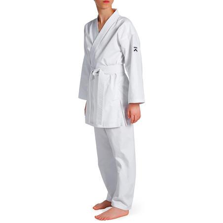 100 Kids' Karate Gi - White