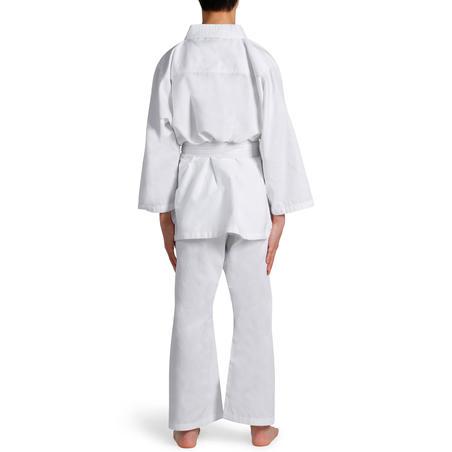 KIMONO JUDO JUDOGI JUNIOR OUTSHOCK 100 BLANCO (INCLUYE CINTURÓN)