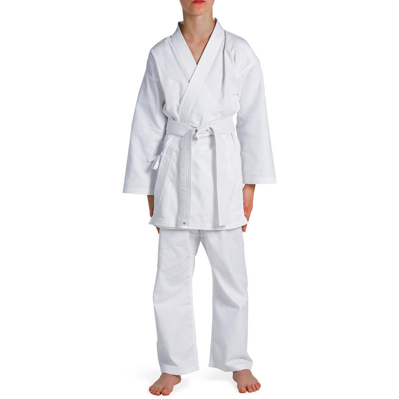 100 Kids' Karate Gi - White