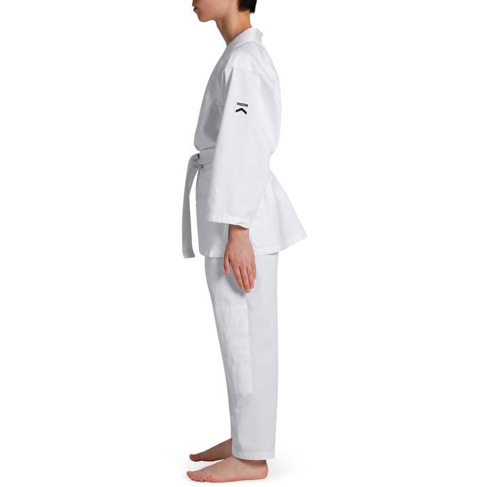 Judoanzug 100 Aikido Kinder weiß