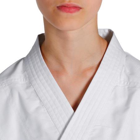 100 Kids' Judo Aikido Gi - White