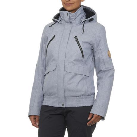 veste de randonn e neige femme sh600 chaude gris quechua. Black Bedroom Furniture Sets. Home Design Ideas