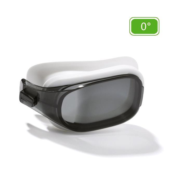 Brillenglas Stärke 0 für Schwimmbrille 500 Selfit Größe L getönt
