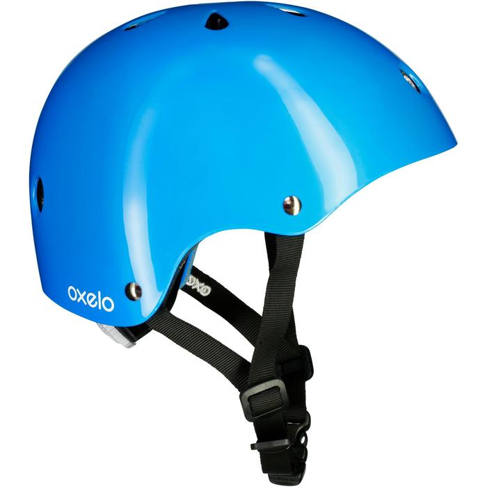 Play 3 Inline Skating Skateboarding Scootering and Cycling Helmet - Blue