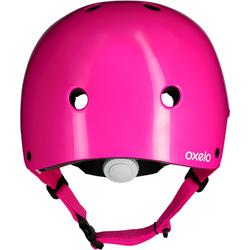 Play 3 Inline Skating Skateboarding Scootering and Cycling Helmet - Pink