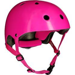 Play 3 直排輪鞋 滑板 滑板車及自行車安全帽 - 粉