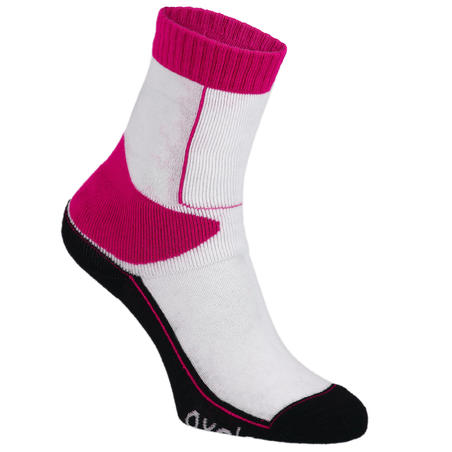 Play Kids' Inline Skating Socks - Pink/White