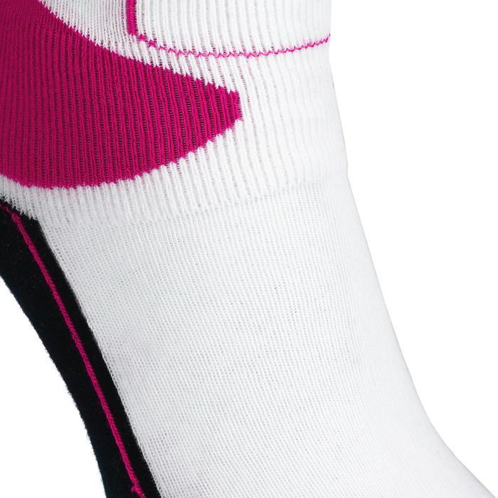兒童直排輪襪Play - 粉色/白色